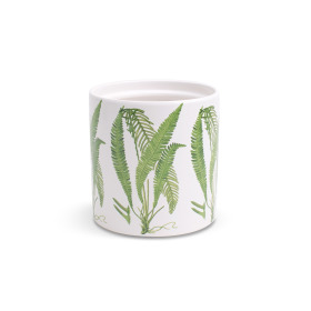 Ceramic Pot Aculeatum ES12 white