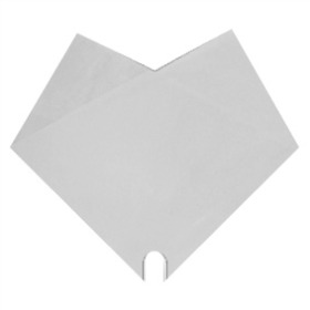 Sleeve Doublé Uni 35x35cm white