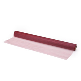 Organza on roll 50cm x 10m burgundy