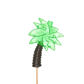 Palm Springs 10cm on 50cm stick green