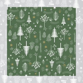 Christmas Favourite 24x24 in green H3