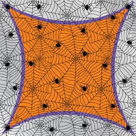 Wicked Web 24x24 in H3