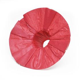 Bouquet holder Kraft 25cm red