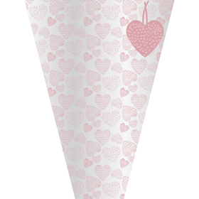 Sleeve Heart Collection 50x35x12cm pink