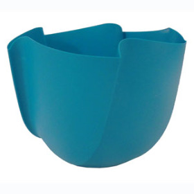 Twister Pot 6in Teal - Colombia only