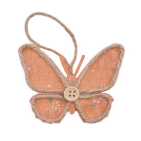 Butterfly Linn 8.5cm orange