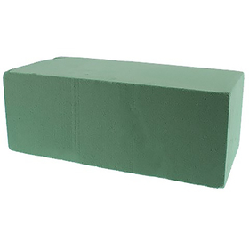 Floral foam block 23x11x8cm green (x20)