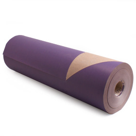 Kilo Brown Kraft 50cm/50g. on roll lilac p/kg