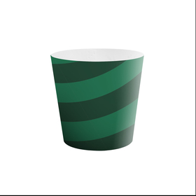 """Potcover Muse 4"""" green"""