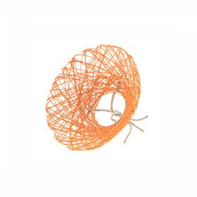 Bouquet holder Paperweb Ø20cm orange