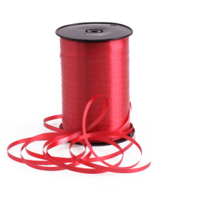 Curling ribbon 5mm x 500m firered