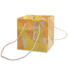 Carrybag Urban Jungle 16x16x16cm yellow