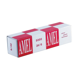 Rapid staples Amel 24/6 copper plated, 5m