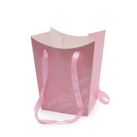 Giftbag Mother's Day 21/20x16.5/15.5x26cm pink