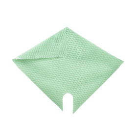 Sleeve Impress Wave 32x32cm green