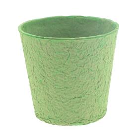 """Paper Pulp Pot Carta 6"""" green"""