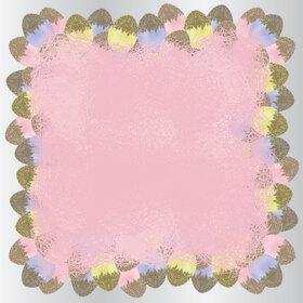 Egg Doppy 24x24in pink