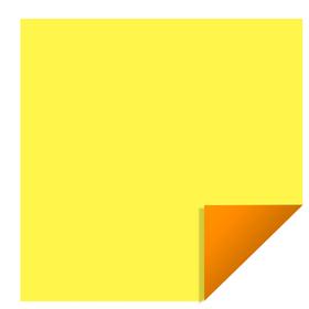 Bi-Color 24x24in yellow/orange