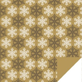 Frost Sheet 24x24 in gold