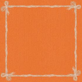 Raff 24x24 in orange