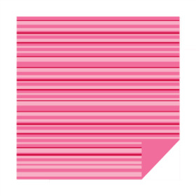 Lines Sheet 20x20 in pink/red no hole