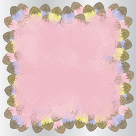 Egg Doppy 24x24in pink H3