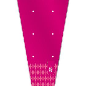 Plant sleeve Diamond Love 62x35x12cm cerise