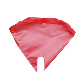 Sleeve Nonwoven Moon Glossy 25x30x4cm red