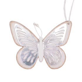 Butterfly Tess 9cm white