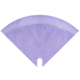 Sleeve Moon Glossy 35x35cm lilac