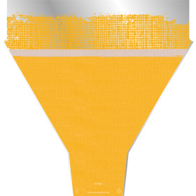Sleeve Vintage Rag 54x35x10cm yellow
