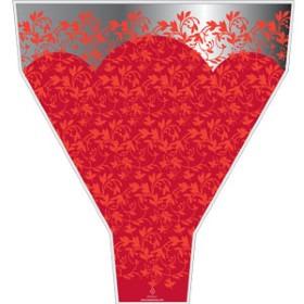 ROMANCE 21X14X4 IN RED