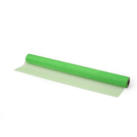 Organza on roll 50cm x 10m green