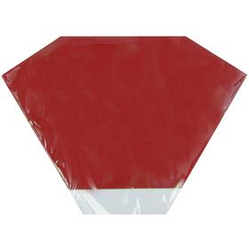 Hoes Doublé Florist 35x35cm rood