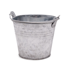 Zinc Bucket 7 in