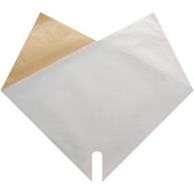 Sleeve Doublé Kraft 35x35cm white