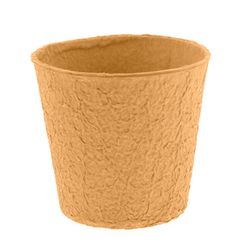 "Paper Pulp Pot Carta 4"" orange"
