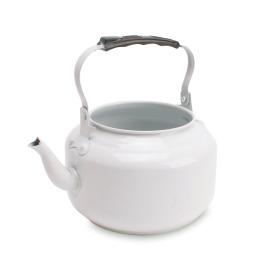 Zinc Teapot white