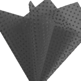 Sheet Organza Metallic Dots 30x30cm black