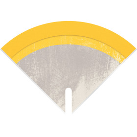 Sleeve Moon Stone 35x35cm yellow
