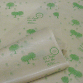 Kilo kraft nat. Tree sheet 60x85cm 40 grams green
