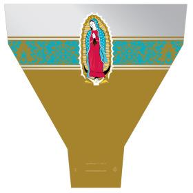 Guadalupe 21x17x5 in