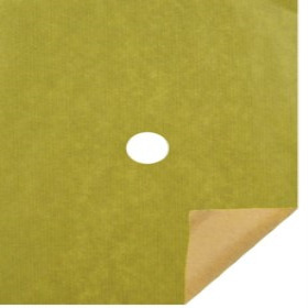KRAFT 20X24 IN 50GRS LIGHT GREEN WITH HOLE