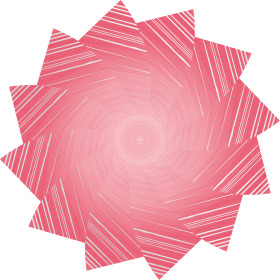 Sheet Marvelous Ø80cm pink