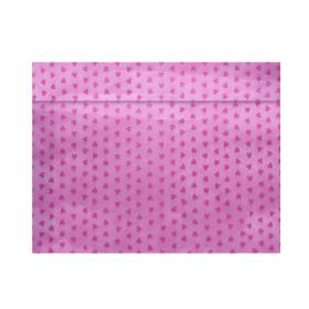 Tubesleeve Send Love 40x55cm pink