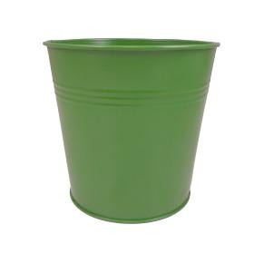 Tin Pot 6in green