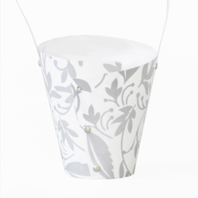 Plantcarrier Fantasia 15x13,5x8cm white