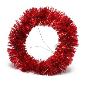 Bouquet holder X-mas Garland Ø25cm red