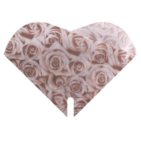 Sleeve Doublé Satin Rose 35x35cm cream