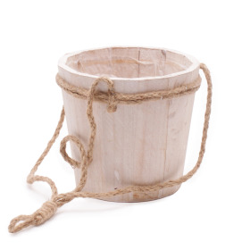 Hanging pot Tim ES12 H13.5cm white